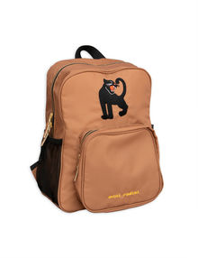 Mini Rodini -  Panther school bag, beige