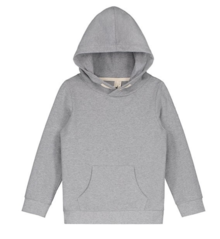 GRAY LABEL - Classic hooded sweater,  Grey Melange