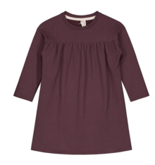 GRAY LABEL - Pleated Dress, Plum