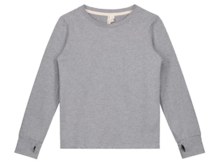 GRAY LABEL - L/S Tee with Thumbhole, Grey Melange