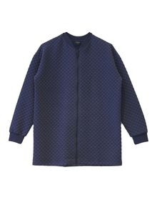 Aarrekid - BUBBLE NAVY, Long Bomber Jacket / Women