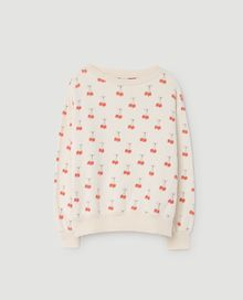 TAO - Bear kids sweatshirt, white cherries
