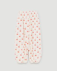 TAO - Dromedary kids pants, white cherries