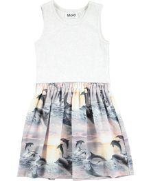 Molo kids - Colleen dress, dolphin sunset