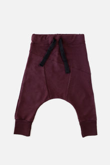 Kaiko - Sloper pants, burgundy