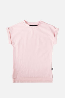 Kaiko - Drop Shoulder T-Shirt, Rose