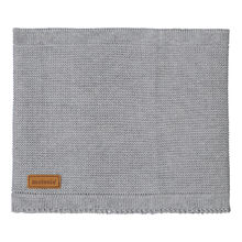 METSOLA - Knitted scarf, grey melange