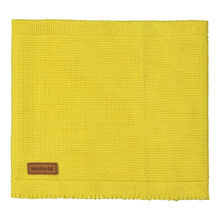 METSOLA - Knitted scarf, primrose yellow