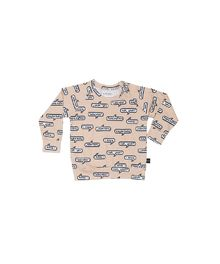 Huxbaby - Pixel sweatshirt, smoke grey