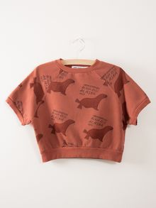 Bobo Choses - SS Sweatshirt Green Otariinae AO