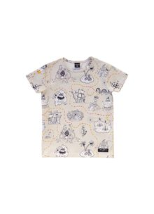 Aarrekid - TREASURE MAP, T-Shirt SS