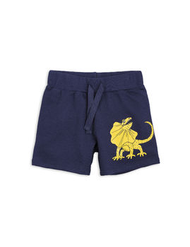 Mini Rodini - Draco sp sweatshorts, navy