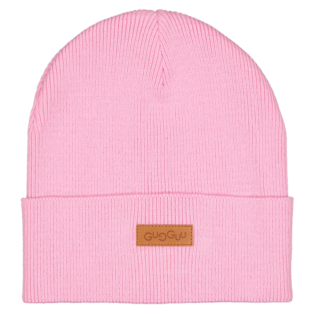 Gugguu - Basic knitted beanie, pink cloud