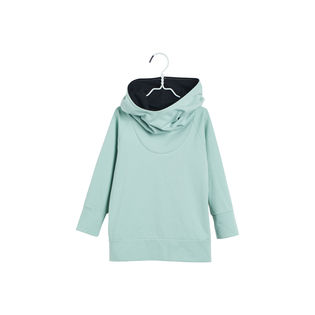 Papu - Hoo-hoodie birdie single, plankton green / melange grey