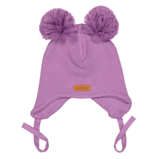 Gugguu - Double tuft baby beanie, violet