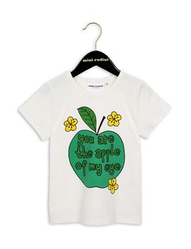 mini rodini - Apple SP tee, white
