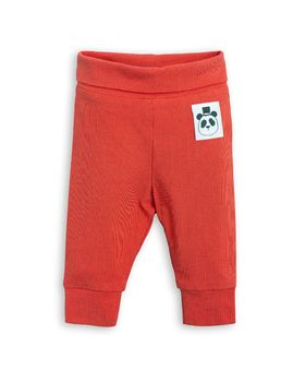 mini rodini - Basic NB leggings, red