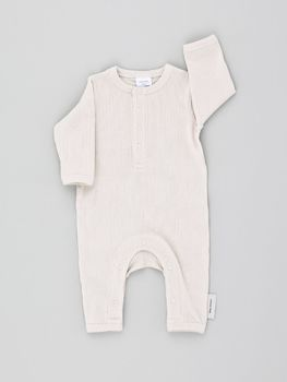 Tinycottons - Basic rib onepiece, beige