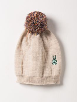 Bobo Choses - Beanie cream embr. bunny