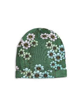 mini rodini - Daisy beanie, dark green