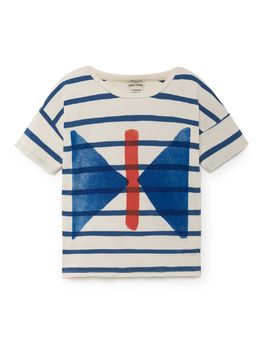 Bobo Choses - T-Shirt Butterfly, stripes