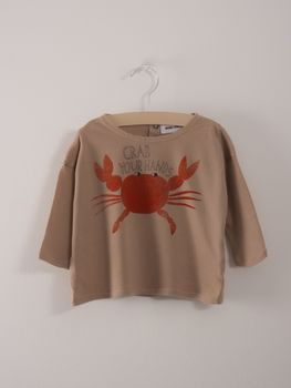 Bobo Choses - Baby T-Shirt Crab your hands