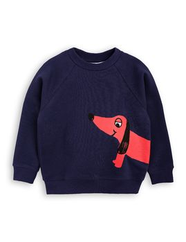 mini rodini - Dog SP sweatshirt, navy