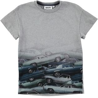 Molo kids - Fading stacked cars tee