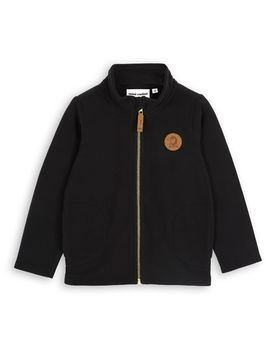 mini rodini - Fleece jacket, black
