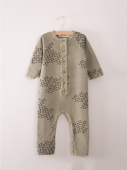 Bobo Choses - Fleece jumpsuit Flocks AO