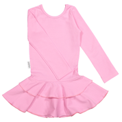 Gugguu - Frill LS dress, pink cloud