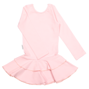 Gugguu - Frill LS dress, soft rose