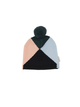 Tinycottons - Geometric beanie, multicolor