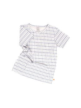 Tinycottons - Grid tee, pale blue