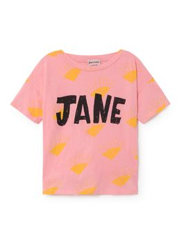 Bobo Choses - T-Shirt Jane, pink strawberry