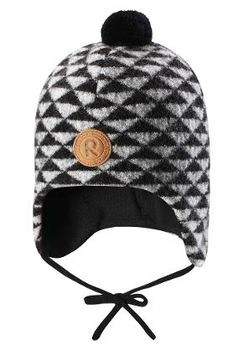 Reima - Kauris wool beanie, black