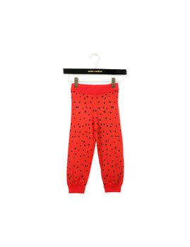 mini rodini - Knitted leggings, red
