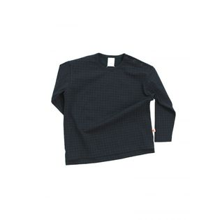 Tinycottons - Medium grid overzize tee, navy