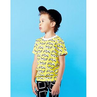 Mainio - Motion tee, yellow