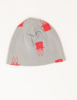 Picnik Barcelona -Rabbit beanie, grey