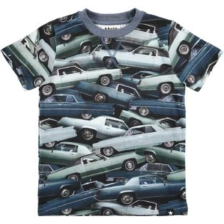Molo kids - Stacked cars tee