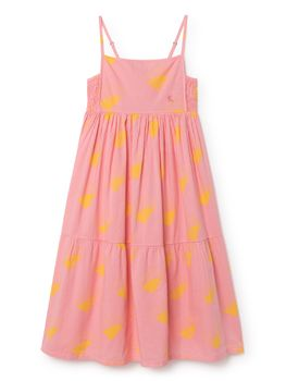 Bobo Choses - Sun Princess Dress, strawberry