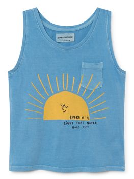 Bobo Choses - Tank top Sun, blue