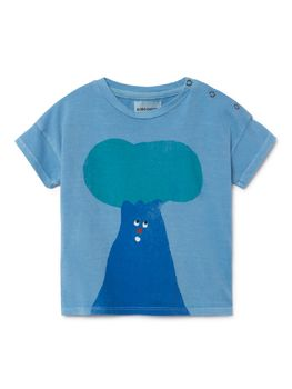 Bobo Choses - Baby Tree Short Sleeve T-Shirt, blue