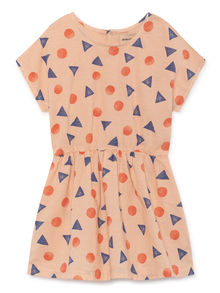 Bobo Choses - Pollen T-Shape Dress, Rose Dust (119093)