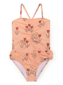 Bobo Choses - Poppy Prairie Swimsuit, Rose Dust (119134)