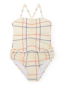 Bobo Choses - Lines Swimsuit, Mellow (119135)