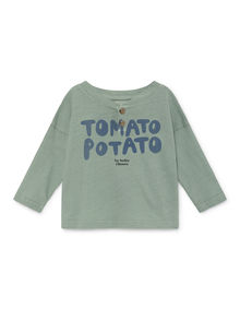 Bobo Choses - Tomato Potato Buttons T-Shirt (119163)