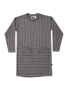 Mainio - Sticks Sweat Tunic, Charcoal grey