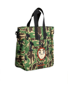 Mini Rodini - Camo gym bag, Green